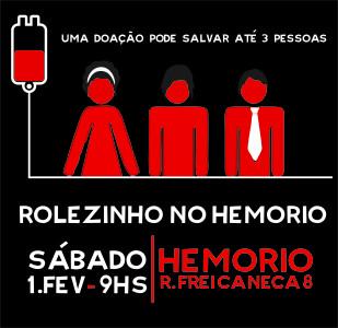 rolezinho hemorio