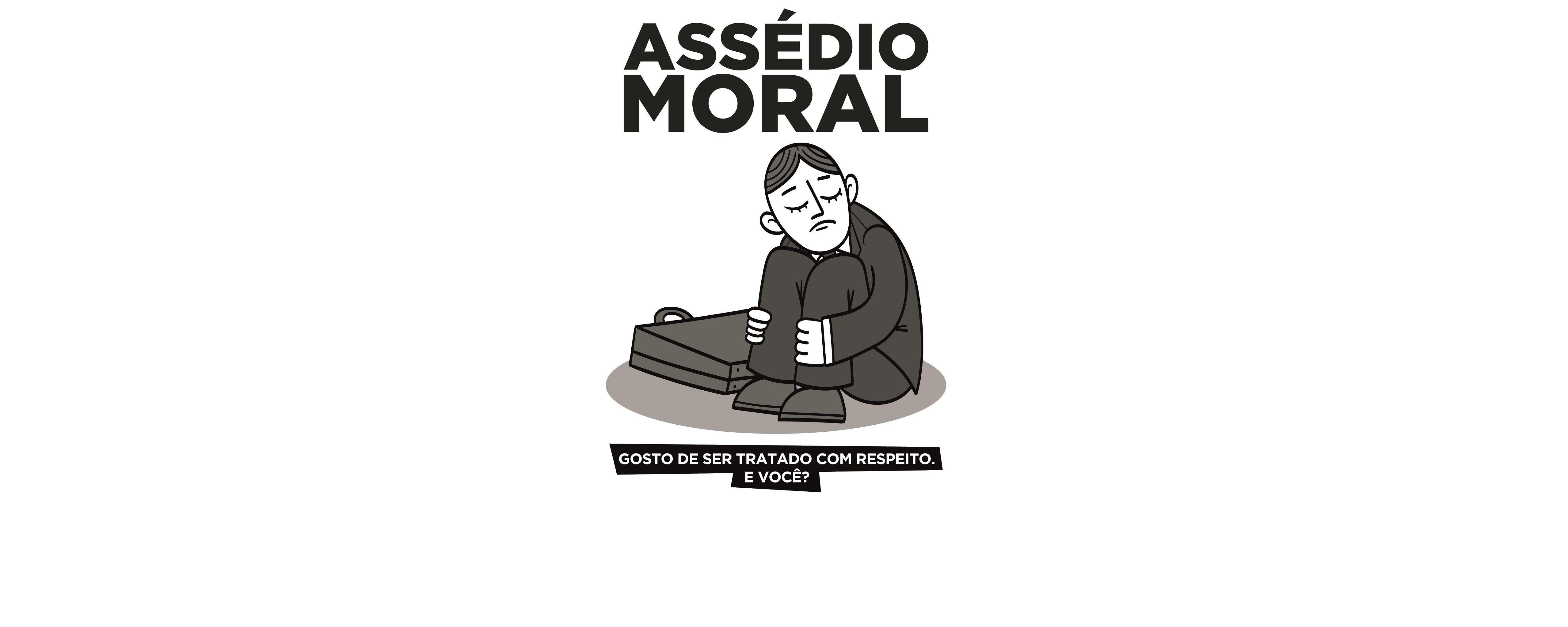 Cartaz impressão - Assédio Moral