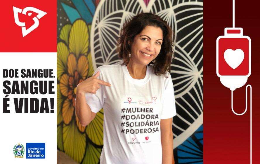 Campanha Mulher Solidária Hemorio