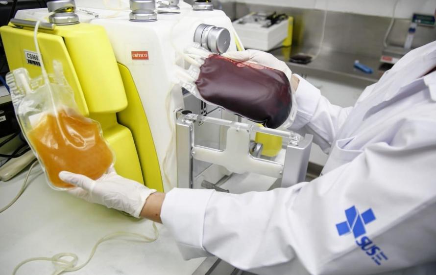 plasma convalescente - Hemorio